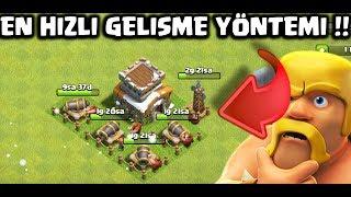 KÖY BİNASI 8 HIZLI GELİŞME !! | Clash of Clans