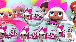 Видео для Детей. Игрушки Куклы. Сюрприз Игрушки LOL BABY SURPRISE DOLLS Игрушки Меняющие Цвет
