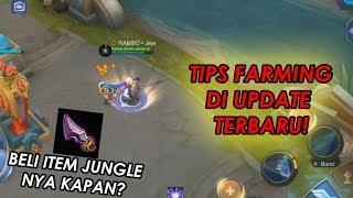 TIPS DAN TRIK FARMING DI UPDATE TERBARU SEKARANG ! - Mobile Legends Indonesia