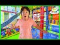 Ryan's Toys Went Missing Pretend Play at Indoor Playground!!!