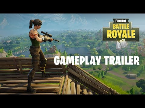 Fortnite Battle Royale - Gameplay Trailer (Play Free Now!) thumbnail