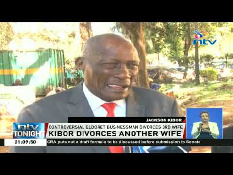 Controversial Eldoret businessman divorces third wife