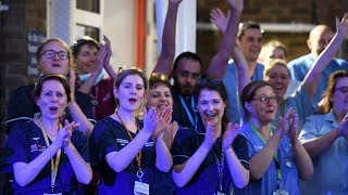 video: Watch: Clap for our carers - Britons again show gratitude to NHS heroes fighting coronavirus