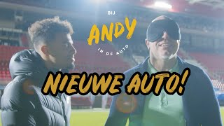 Onthulling nieuwe auto Andy!