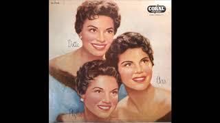 The McGuire Sisters - Bye Bye Blackbird