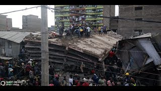 BREAKING NEWS: Six-storey building collapses in Tassia, Nairobi, Several feared trapped