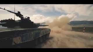 preview picture of video 'в Оше сняли рекламный Ролик про Армию'