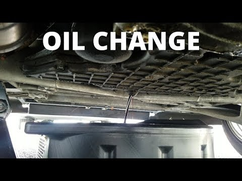 C5 Corvette Oil Change
