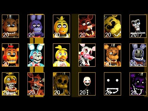 Download Ultimate Custom Night All Jumpscares Video 3GP Mp4 FLV HD
