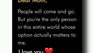 Mom ❤ special love quotes status ✨ || Whatsapp status video💞 || Latest 2020 Mom Love status ||❣️
