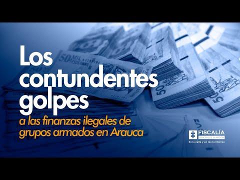 Contundentes golpes a las finanzas ilegales de grupos armados en Arauca