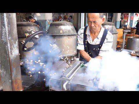 How Puffed Rice Candy is Made