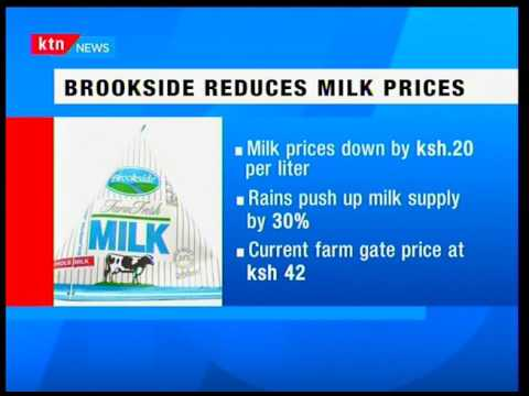 Kenyan leading milk processor Brookside reduces milk prices