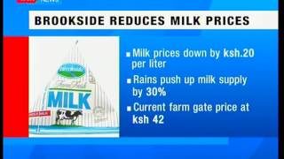 Kenyan leading milk processor Brookside reduces milk prices