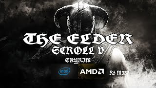 Skyrim on i3 6006U ,8gb ram ,AMD R5 M330 ,Medium ,Fps Test.