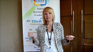 Ms. Tatyana Tsukanova at IE Conference 2013 by GSTF