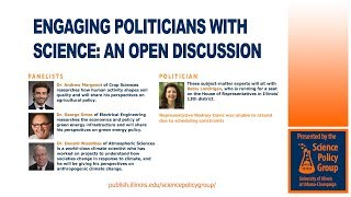 Thumbnail of Engaging Politicians with Science: An Open Discussion (Panel) video