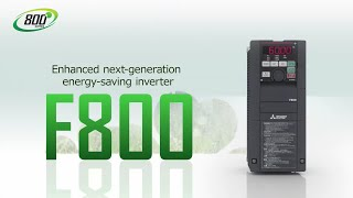 Mitsubishi Electric - FR-F800 Variable Frequency Drive for Fan and Pump Applications
