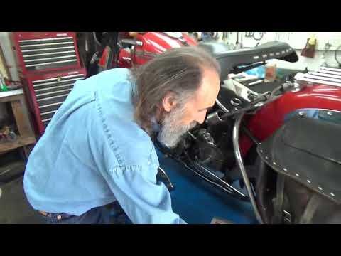 Replacing Harley Davidson Big Twin Early Type Transmission Seal, Part 3