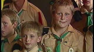 Late TV: Scouting Maria Ghuoretti 40 jaar nieuw onderkomen (1986)