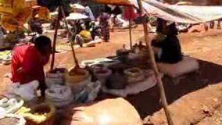 HoboTraveler at a market in Hagere Mariam, Ethiopia