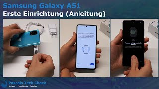 Samsung Galaxy A51 || Erste Einrichtung und Anleitung (Tipps & Tricks)