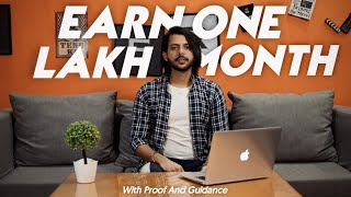 How to earn one lakh rupees per month with affiliate marketing (with proof and guidance)