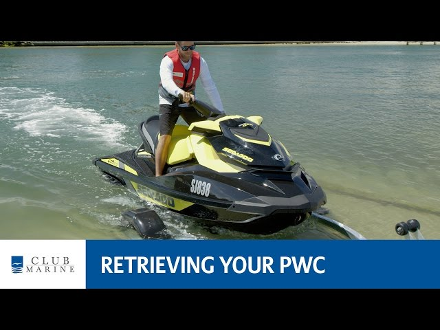 How to retrieve your jet ski or PWC | Club Marine