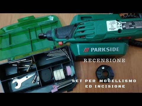 Set per modellismo ed incisione - Parksade - recensione