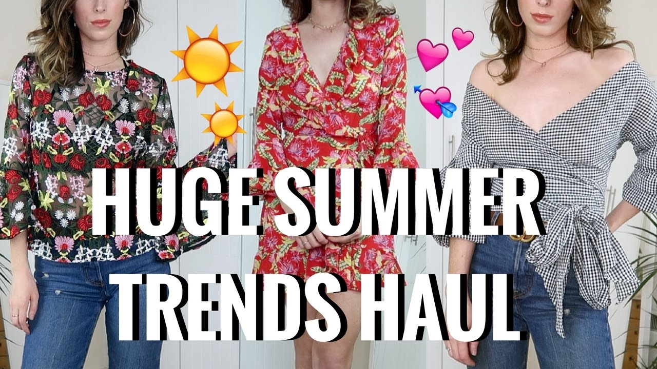 HUGE TRY-ON SUMMER TRENDS HAUL ☀️️  PRETTYLITTLETHING, SHEIN, MISSY EMPIRE & MORE! | CIARA O DOHERTY