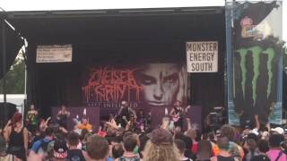 Chelsea Grin - My Damnation live Warped Tour 2016 HD