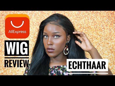 Echthaar Review | Echthaar Perücke  für NUR 149€ - Alle Infos | Aliexpress | BeautybyV