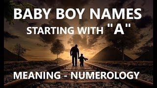 """Baby Boy Names Starting With """"A"""" in Sanskrit/ Hindi, Most Beautiful, Unique Names"""