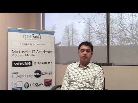 NetSoft College Testimonial Muhammad Atif Qureshi