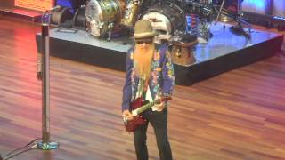 ZZ Top - Jailhouse Rock - The Ryman - Nashville, TN 11-21-2013