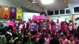 Roscommon School 2013 House Chant off - Waitemata House