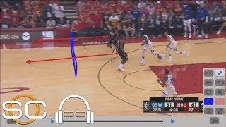 Tim Legler breaks down film of mistakes Rockets made in Game 7 vs. Warriors | SC with SVP | ESPN