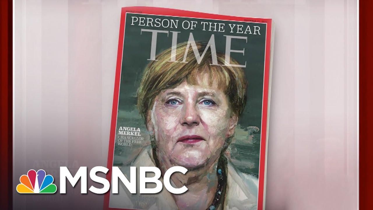 Angela Merkel Named 2015 Time Person Of The Year | Morning Joe | MSNBC thumbnail