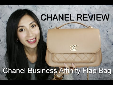 Chanel Business Affinity Flap Bag Review 2017 | Mod Shots | Chanel Reviews | Alexa Style Book