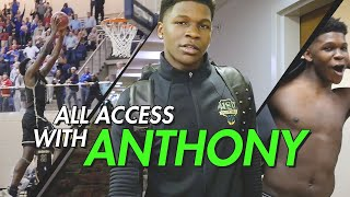 Anthony Edwards Is THE FUTURE! Inside Look At How He Prepared For The STATE CHAMPIONSHIP 😱