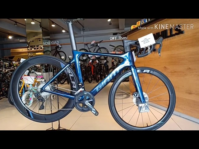 Видео Велосипед Giant Propel Advanced 1 Disc Gunmetal Black