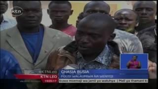KTN Leo: Wakaazi wa Busia wazua fujo na polisi baada ya mwendesha bodaboda kuuwawa