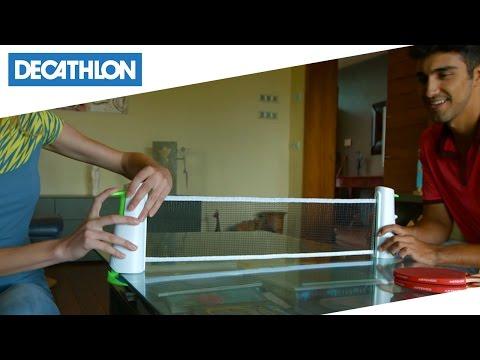 Kit da ping pong regolabile ROLLNET Artengo | Decathlon Italia