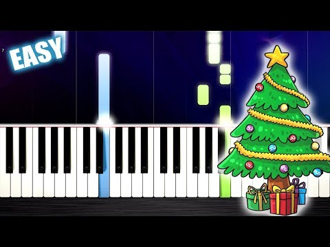 Feliz Navidad - EASY Piano Tutorial by PlutaX