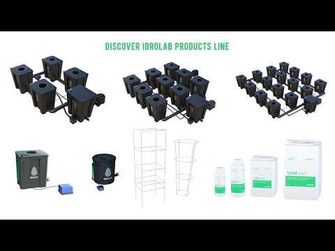 idrolab Hydroponics RDWC Systems Intro on Grow Aquaponically