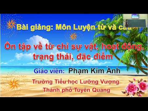 Môn Tiếng Việt lớp 3 - Luyện từ và câu - GV Phạm Kim Anh - Trường TH Lưỡng Vượng
