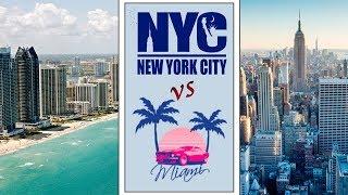 Нью-Йорк или Майами? |Где лучше жить и рожать?