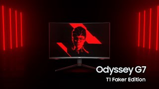 Odyssey G7 T1 Faker Edition: Two heroes join forces | Samsung thumbnail