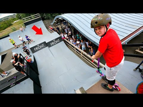 6 YEAR OLD VS MEGA RAMP!