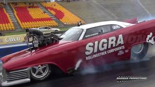 SYDNEY DRAGWAY - SIGHTS AND SOUNDS - 25th MARCH 2017